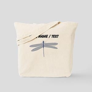 Custom Dragonfly Tote Bag