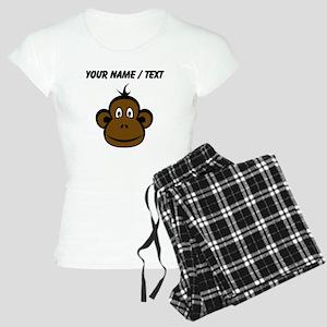Custom Monkey Face pajamas