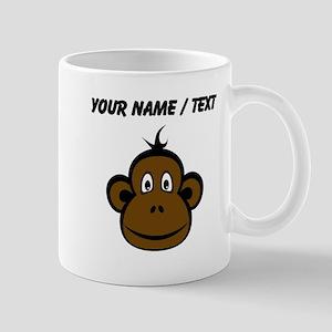 Custom Monkey Face Mugs