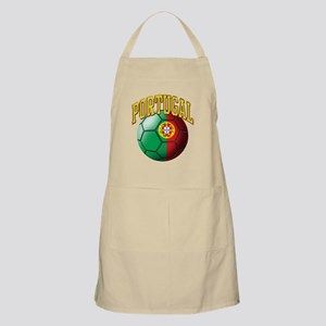 Flag of Portugal Soccer Ball Apron