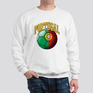 Flag of Portugal Soccer Ball Sweatshirt