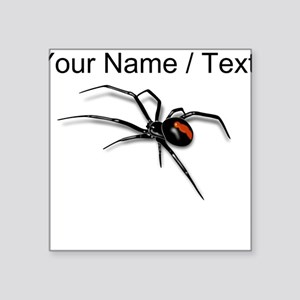 Custom Red Back Spider Sticker