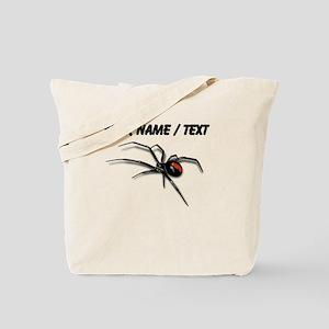 Custom Red Back Spider Tote Bag