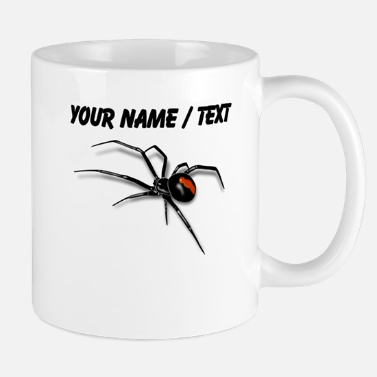 Custom Red Back Spider Mugs