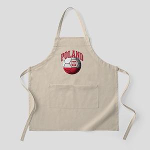 Flag of Poland Soccer Ball Apron