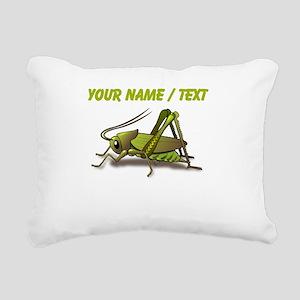 Custom Green Cricket Rectangular Canvas Pillow