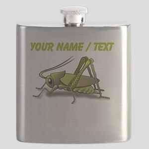 Custom Green Cricket Flask