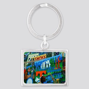 Knoxville, TN Mural Landscape Keychain