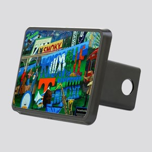 Knoxville, TN Mural Rectangular Hitch Cover
