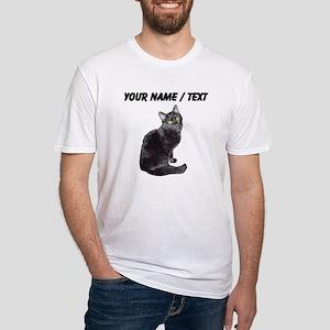 Custom Black Cat T-Shirt