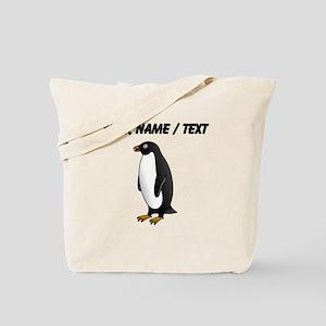 Custom Penguin Tote Bag