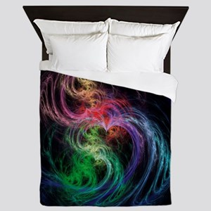 Space Hearts Queen Duvet