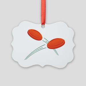 Skeet Clays Ornament