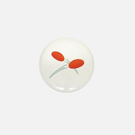 Skeet Clays Mini Button