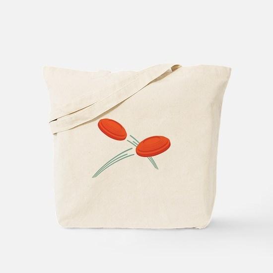 Skeet Clays Tote Bag