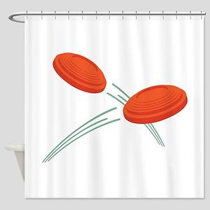 Skeet Clays Shower Curtain