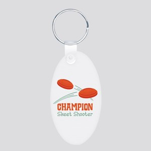 Champion Skeet Shooter Keychains