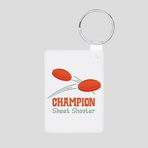 Champion Skeet Shooter Keychains