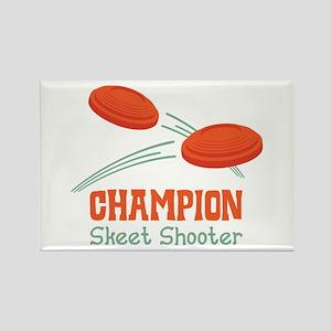 Champion Skeet Shooter Magnets