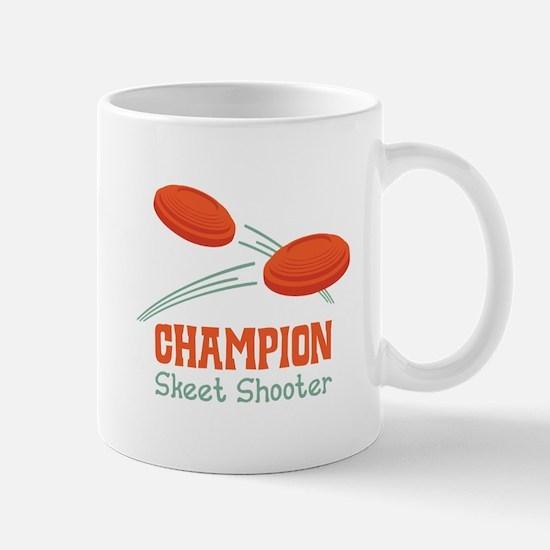 Champion Skeet Shooter Mugs