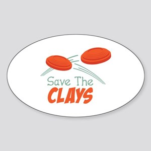 Save The CLAYS Sticker