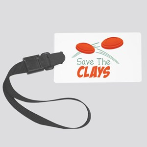 Save The CLAYS Luggage Tag