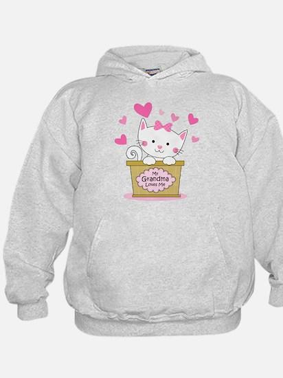 Kitty Grandma Loves Me Hoodie