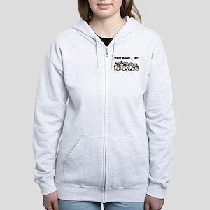 Custom Penguins Zip Hoody