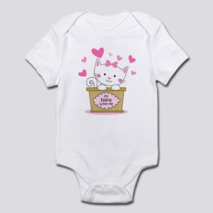 Kitty Nana Loves Me Infant Bodysuit