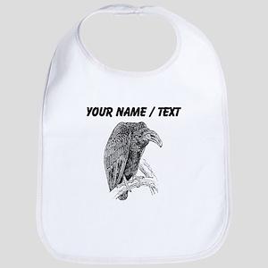 Custom Vulture Sketch Bib