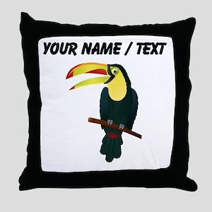 Custom Toucan Throw Pillow