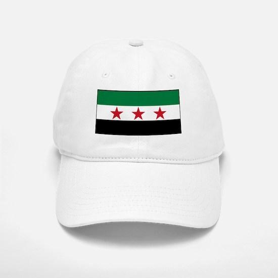 Syrian National Coalition Flag Baseball Baseball Cap