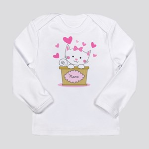 Personalized Kitty Love Long Sleeve Infant T-Shirt