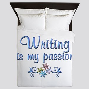 Writing Passion Queen Duvet