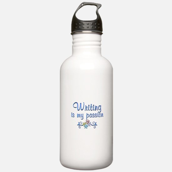 Writing Passion Water Bottle