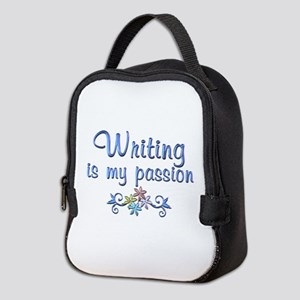 Writing Passion Neoprene Lunch Bag