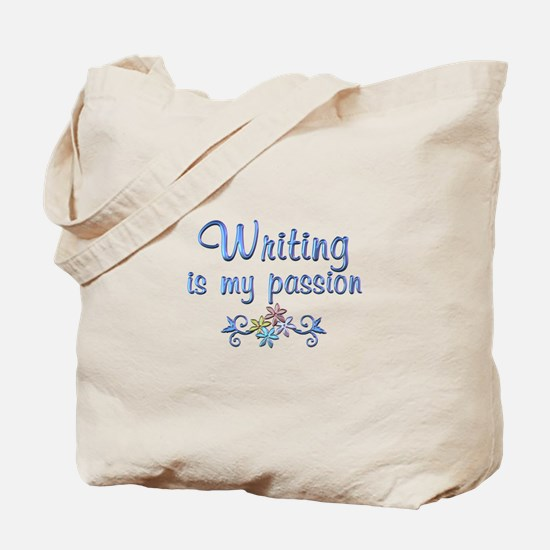 Writing Passion Tote Bag