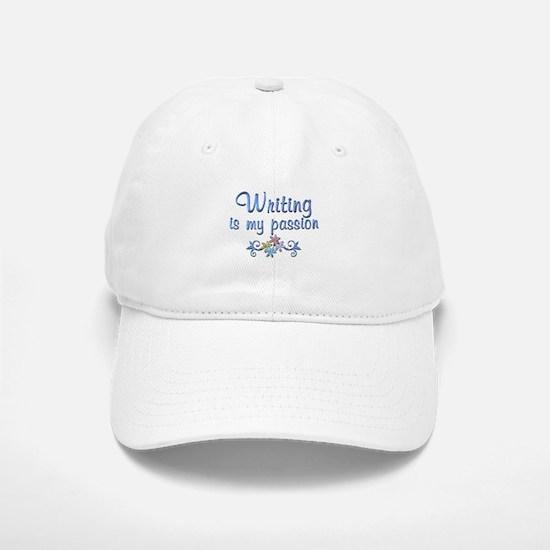 Writing Passion Baseball Baseball Cap