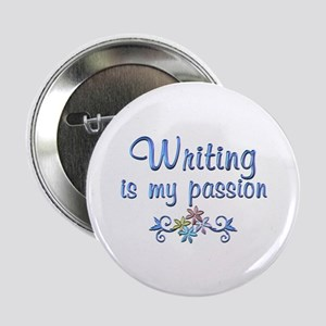 """Writing Passion 2.25"""" Button"""