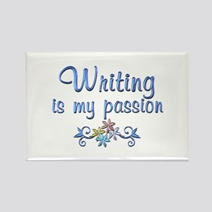 Writing Passion Rectangle Magnet