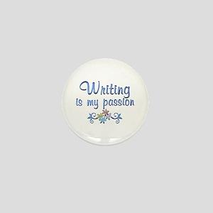 Writing Passion Mini Button