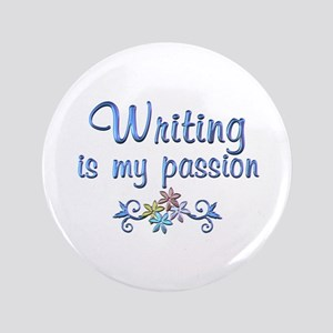 "Writing Passion 3.5"" Button"