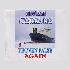 GLOBAL WHINING Throw Blanket