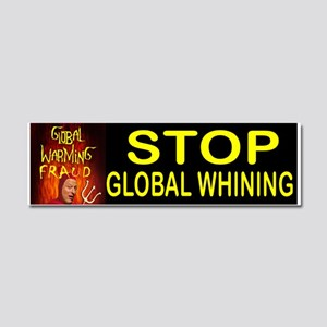 GLOBAL WHINING BUMPER Car Magnet 10 X 3