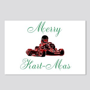 Merry Kart-Mas Postcards (Package of 8)