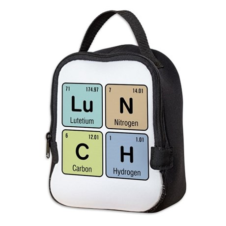 Chemistry Lunch Neoprene Lunch Bag