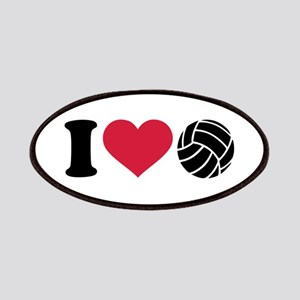 I love Volleyball Patches
