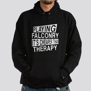Awesome Falconry Player Designs Hoodie (dark)