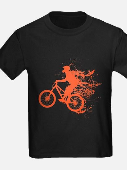 Biker ink splash T