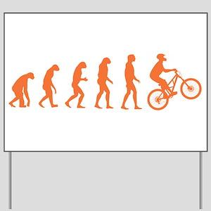 Evolution Biking Yard Sign